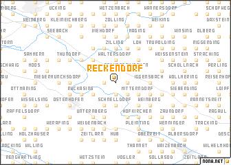 map of Reckendorf