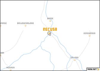 map of Recusa