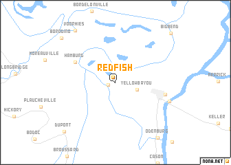 map of Red Fish