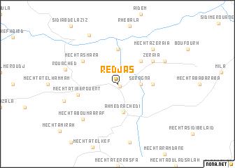 map of Redjas