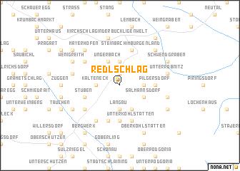 map of Redlschlag