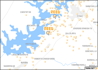map of Reed