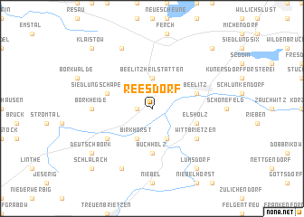 map of Reesdorf