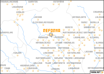map of Reforma