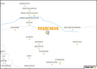 map of Regachëvo