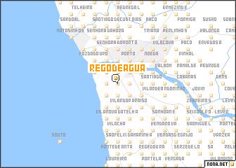 map of Rego de Água