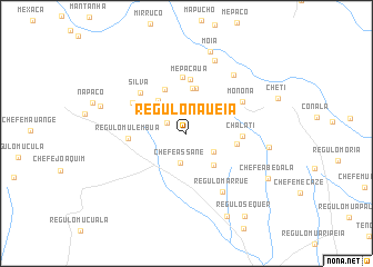 map of Régulo Naueia