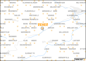 map of Reher