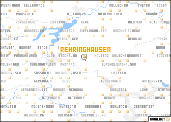 map of Rehringhausen