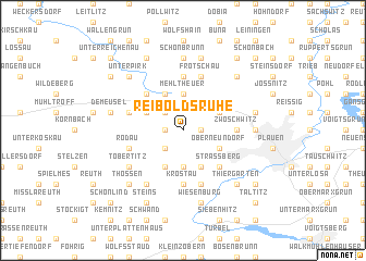 map of Reiboldsruhe