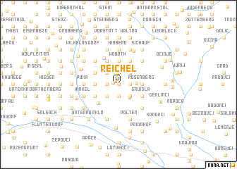 map of Reichel
