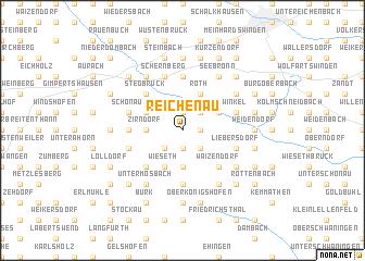 map of Reichenau