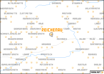 map of Reichenau