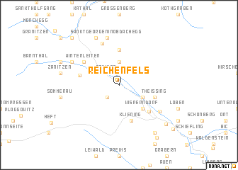map of Reichenfels