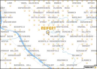 map of Reifert
