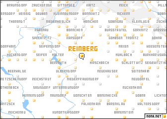 map of Reinberg
