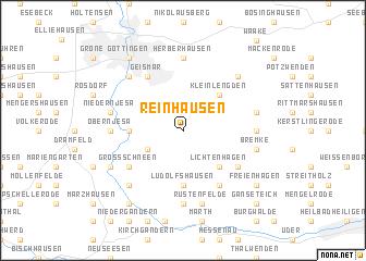 map of Reinhausen