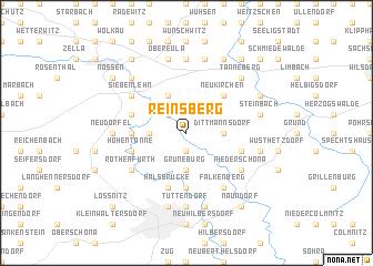 map of Reinsberg
