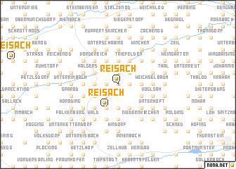 map of Reisach