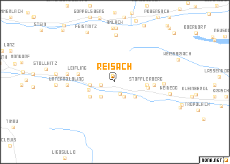 map of Reisach