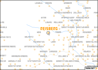 map of Reisberg