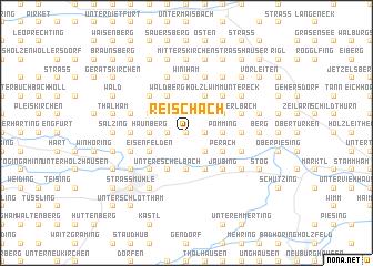 map of Reischach