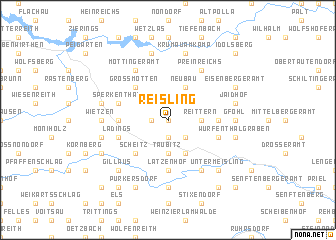 map of Reisling
