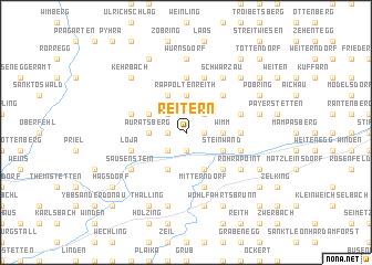 map of Reitern