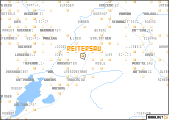 map of Reitersau