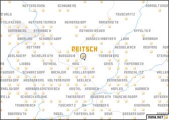 map of Reitsch