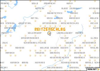 map of Reitzenschlag