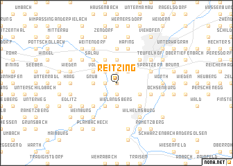 map of Reitzing