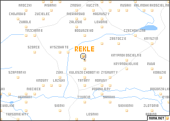 map of Rekle
