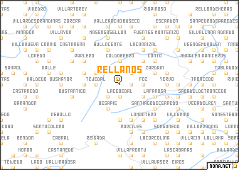 map of Rellanos