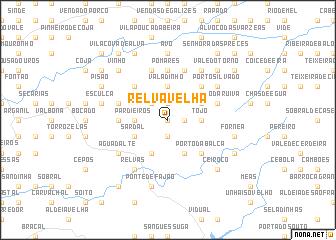 map of Relva Velha
