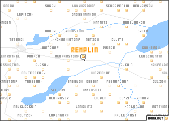 map of Remplin