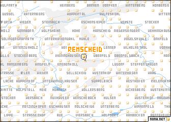 Remscheid Germany map nonanet