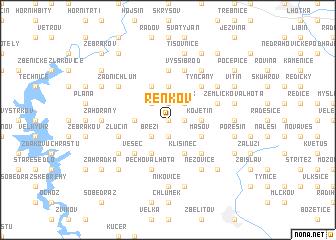 map of Řenkov