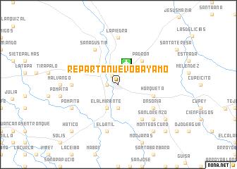 Reparto Nuevo Bayamo Cuba map nonanet