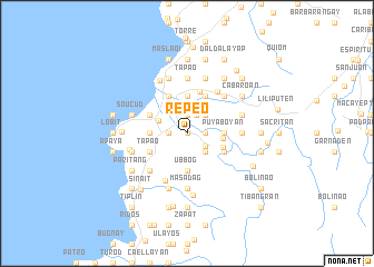 map of Repeo