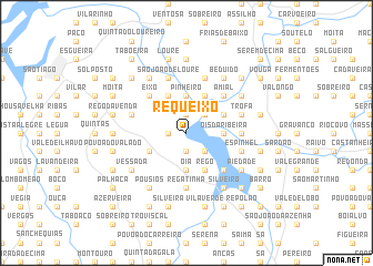 map of Requeixo