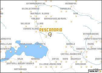 map of Resconorio