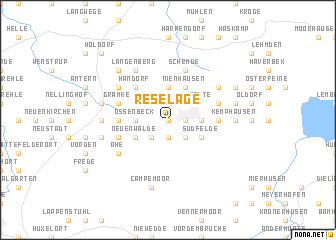 map of Reselage