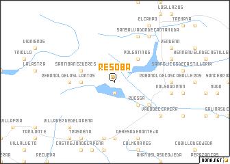 map of Resoba