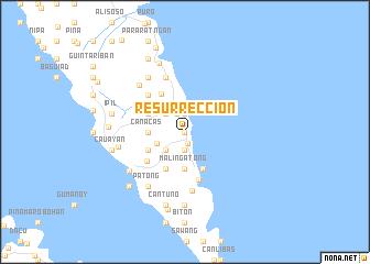 map of Resurreccion