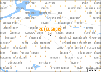 map of Retelsdorf