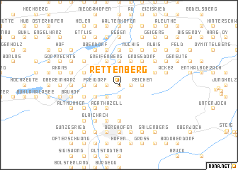 map of Rettenberg