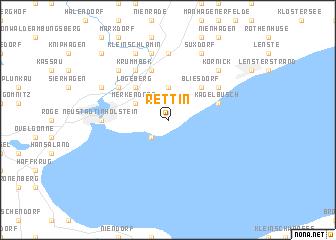 map of Rettin