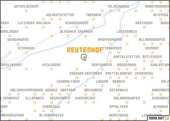 map of Reutenhof