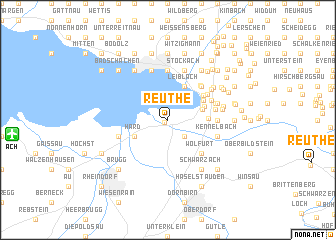 map of Reuthe